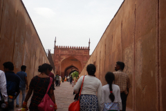 Agra Fort - On the way into the Fort