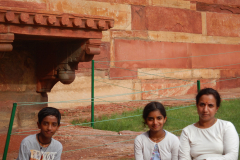 Agra Fort - We are about to enter