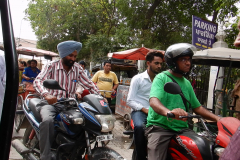 Amritsar & Golden Temple - Streets of Amritsar, Bike riders