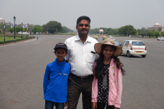 Out in the Delhi's Rajpath
