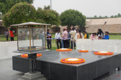 Raj Ghat - The resting place of the father of the nation