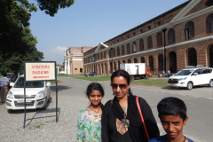 Dehrdun - Forest Research institute background