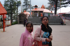 Shimla Jakhoo Temple - Once we entered
