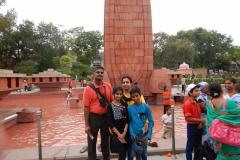 Jallianwala Bagh - We stand in from of the main memorial