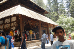 Manali - Close view of the Hadimba Temple