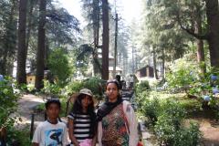 Manali - Gayathri, Nandan and Joshina - Hadimba Temple
