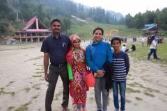 Manali Solang Valley - Family with Gayathri