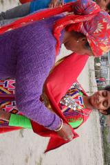 Manali Solang Valley - Gayathri is preparing