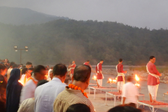 Rishikesh Triveni Ghat Aarti - In progress
