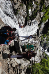 Manali Rohatang Pass - Beauty of the Water fall