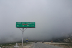 Manali Rohatang Pass - Boarder Roads Sign Board