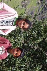 Manali Rohatang Pass - Gayathri and Nandan