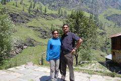 Manali Rohatang Pass - Joshina and me