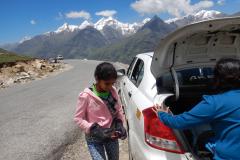 Manali Rohatang Pass - Just landed at the Rohtang Pass