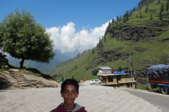 Manali Rohatang Pass - Nandan close to the restaurant we stopped for tea