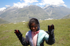Manali Rohatang Pass - Unable to bear the cold