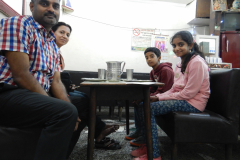 Shimla Mall Road - Dinnner time at a Dhaba (Traditional North Indian Restaurant)