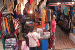 Shimla Mall Road - Shopping begins at the Apparels
