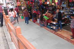 Shimla Mall Road - Shopping is always one target of travel