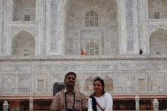 Taj Mahal - I an Joshina, 18 years after the first visit