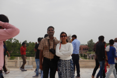 Taj Mahal - I and Joshina, another snap