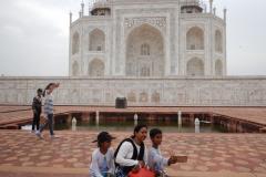 Taj Mahal - Selfie Time