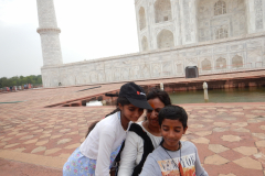 Taj Mahal - Selfie in progress