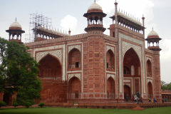 Taj Mahal - the gate for entry