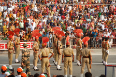 Wagah Border Ceremony - BSF Soldiers are ready for the march