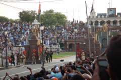 Wagah Border Ceremony - Gates are open