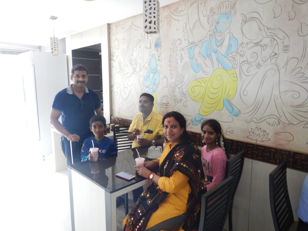 Chennai - Reunion with a class mate after 23 years