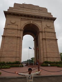 Featured Image - At the India Gate New Delhi