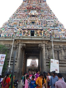Featured Image - Chennai - Outside Kapaleeswarar Temple Photo
