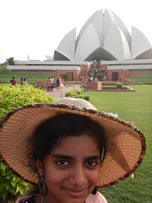 Featured Image - Lotus Temple - Gayathris Hat pose
