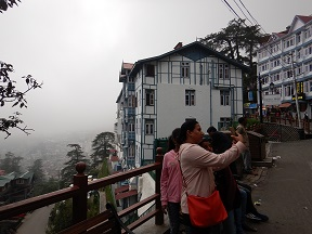 Featured Image - Shimla Mall Road - Selfie time