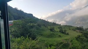 Featured Image - Shimla Toy Train - Beautiful Green Valley, below