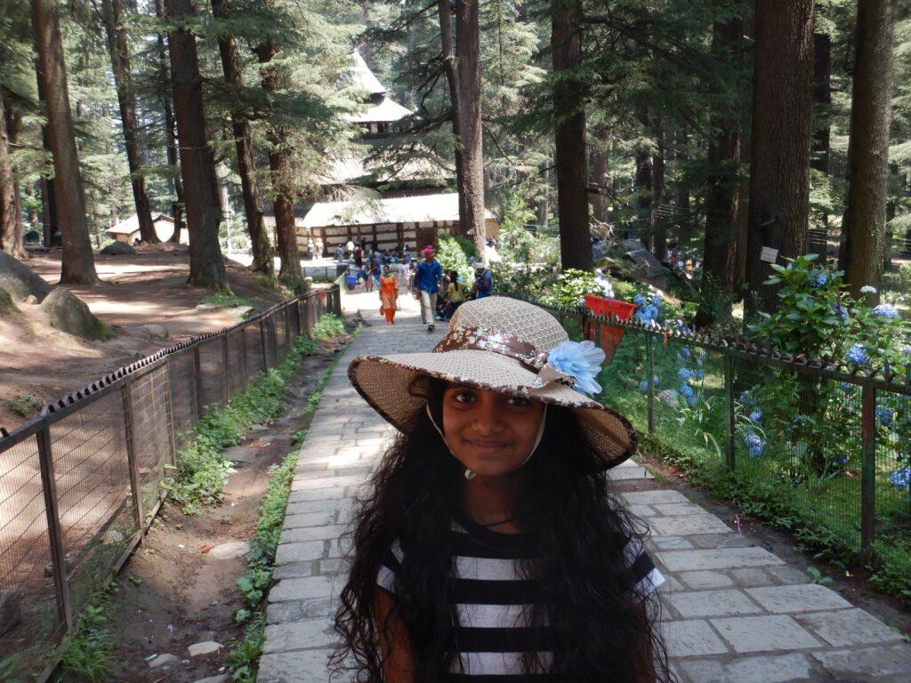 Manali - at the Hidimba devi temple
