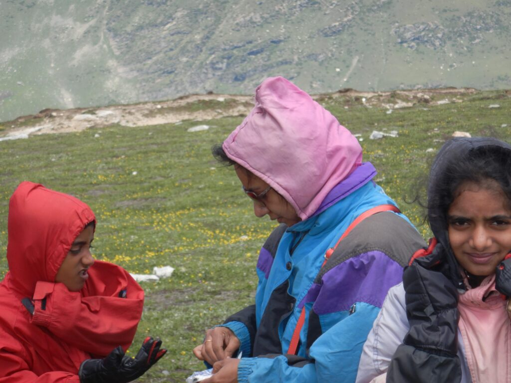 Rohtang Pass - fighting extreme cold even in July